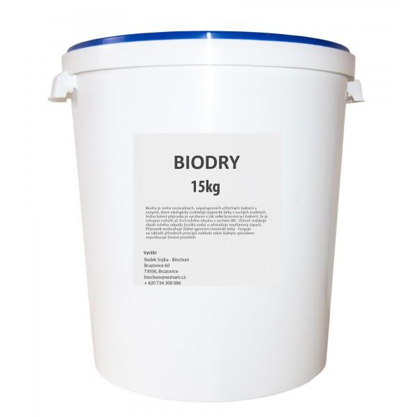 Bakterie do suchých WC - Biodry 15kg