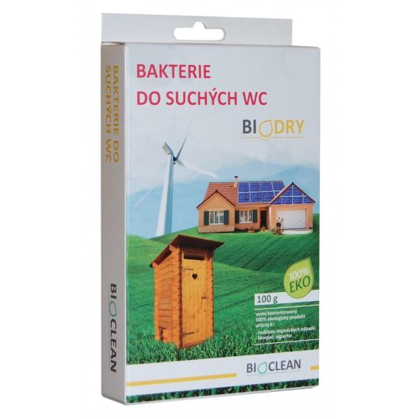 Bakterie do suchých WC - Biodry 100g