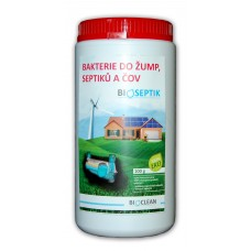 Bakterie do žump, septiků a ČOV - Bioseptik 1kg