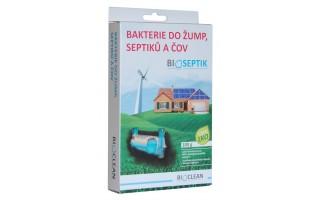Bakterie do žump, septiků a ČOV - Bioseptik 100g
